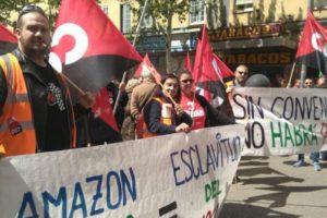 CGT pide a la DGA que vigile la normativa laboral en Amazon