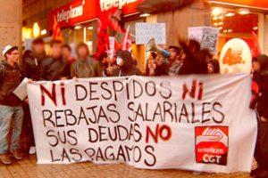 Despedida por Telepizza, tras denunciar a la empresa por amenazas