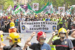 Continúa la crisis de bomberos en el Ayuntamiento de Málaga