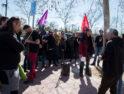 CGT Valladolid contra el despido de la compañera en CETEO