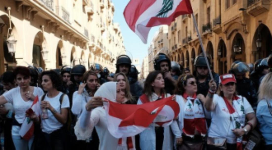 Apoyo a la lucha del pueblo libanés para liberarse de la injusticia social y de la carga de las deudas ilegítimas