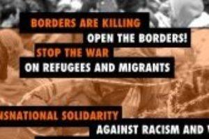 ¡Solidaridad transnacional contra el racismo y la guerra!