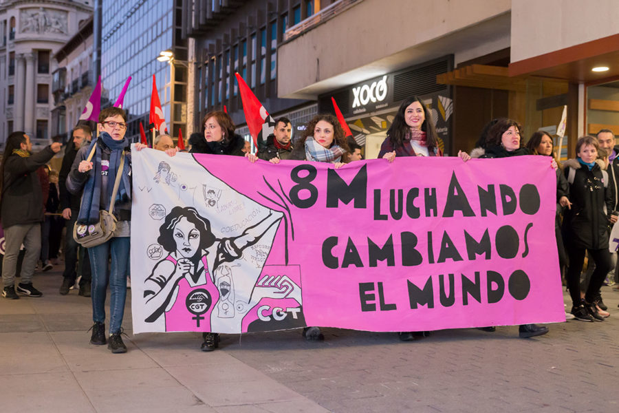 8 de marzo de 2020 – Día Internacional de la Mujer Trabajadora (Fotos) - Imagen-43