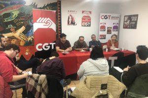 Reunión estatal de las secciones sindicales de Telepizza