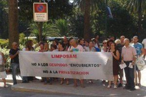 CGT denuncia un ERE encubierto en la empresa municipal de limpieza Limposam