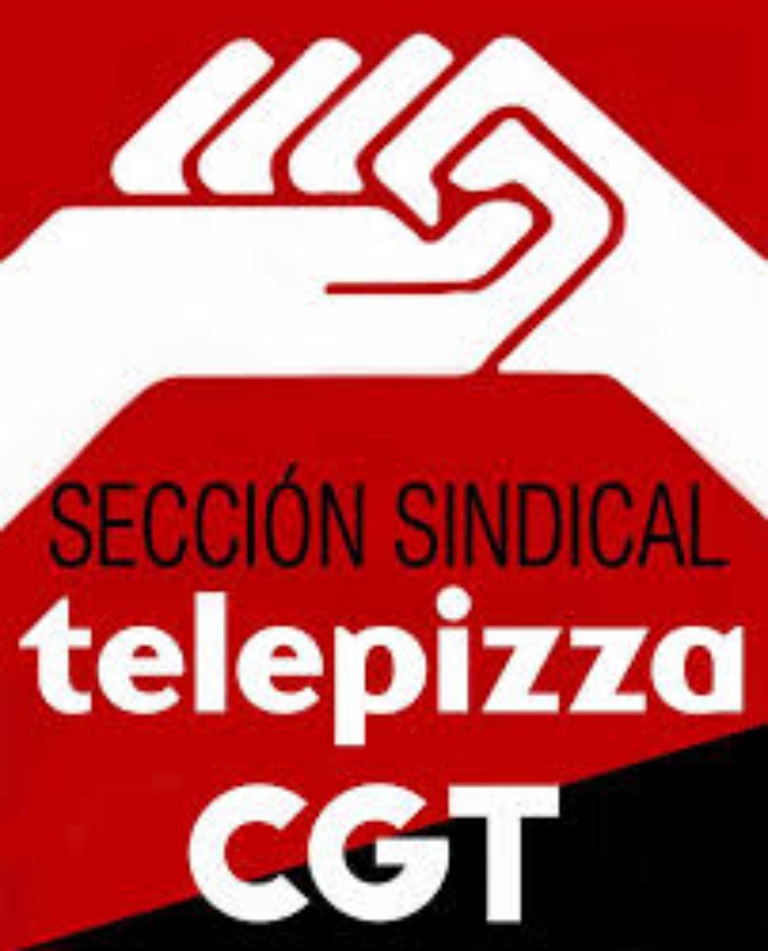 No al ERTE en Telepizza