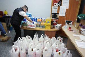 El grupo Solidarios frente al Covid-19 aumentará su ayuda a 50 familias necesitadas la semana próxima