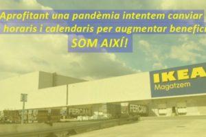 IKEA Valls «recompensa» als treballadors durant la pandèmia amb un article 41