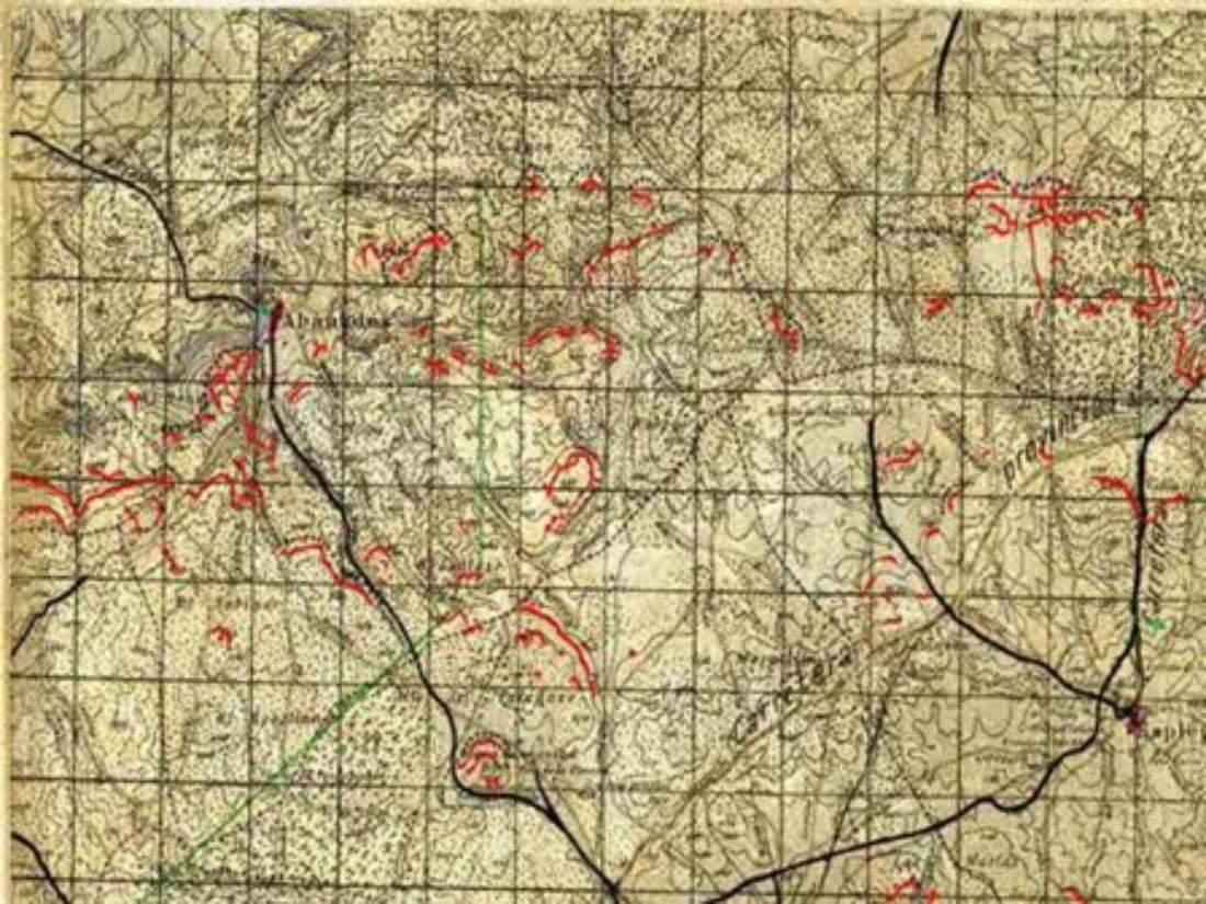 La cartografía republicana de la batalla de Guadalajara reaparece tras 83 años