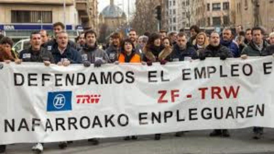 Comunicado de la Sección Sindical de CGT en ZF-TRW