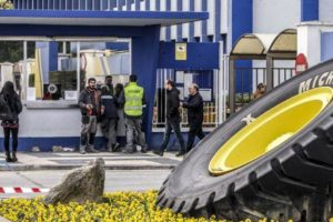 CGT ante el ERTE en Michelin