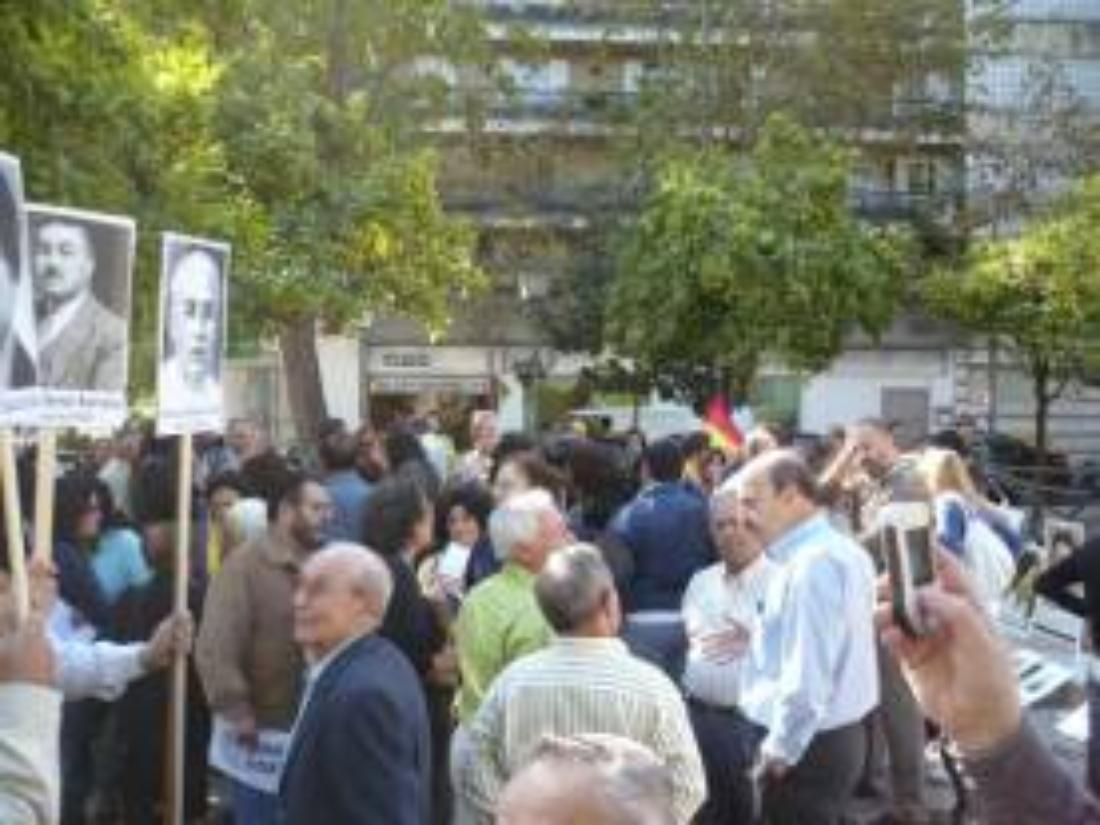 Los memorialistas de CGT comunican al Gobierno la reanudación de sus concentraciones en la Gavidia