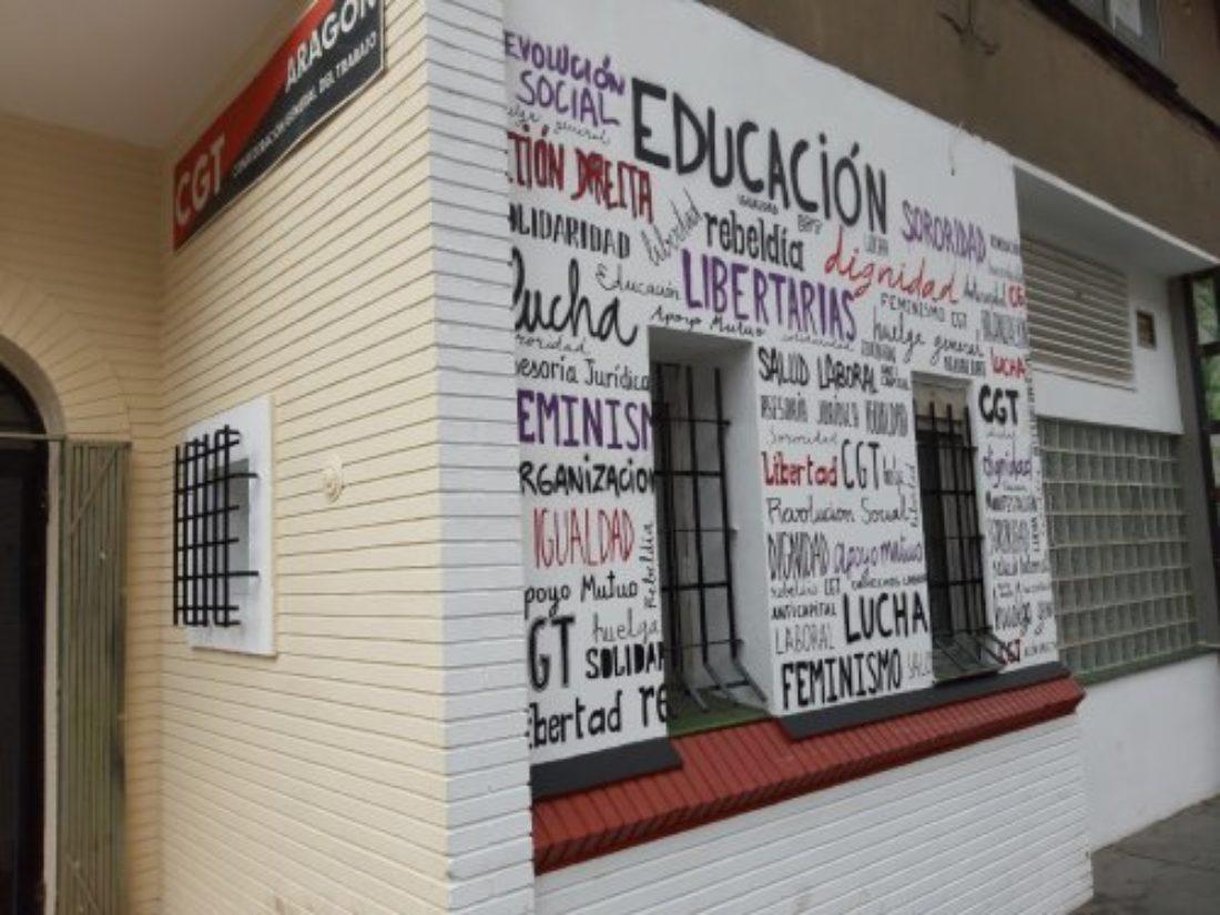 CGT Aragón-La Rioja reabre su sede tras dos meses de cientos de consultas y asesorías online
