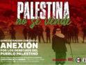 Contra la anexión: Por los derechos del Pueblo Palestino
