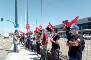 Nueva concentración en Zaragoza contra el cierre de la planta de Nissan