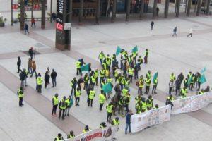 La plantilla de FCC Parques y Jardines ratifica el preacuerdo de fin de huelga alcanzado durante el estado de alarma