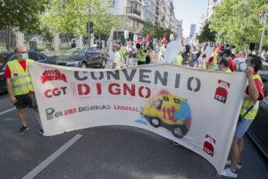 CGT Valladolid en apoyo de Ambuibérica