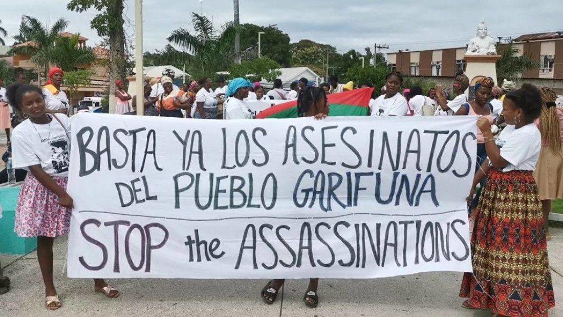 CGT exige la aparición con vida del líder garífuna Snider Centeno y los integrantes de la comunidad Triunfo de la Cruz de Honduras