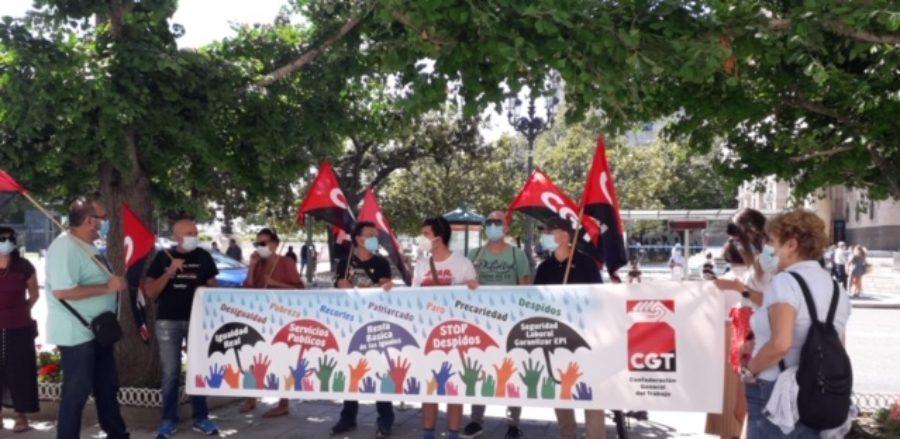 Concentraciones convocadas por la CGT el 30 de junio para exigir que esta nueva crisis no la paguen los colectivos más precarios y desfavorecidos - Imagen-5