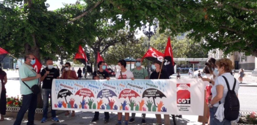 Concentraciones convocadas por la CGT el 30 de junio para exigir que esta nueva crisis no la paguen los colectivos más precarios y desfavorecidos - Imagen-6