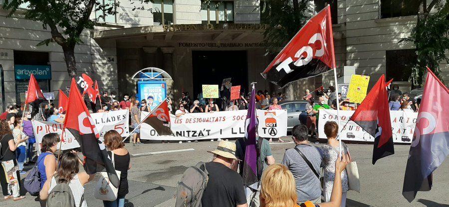 Concentraciones convocadas por la CGT el 30 de junio para exigir que esta nueva crisis no la paguen los colectivos más precarios y desfavorecidos - Imagen-12