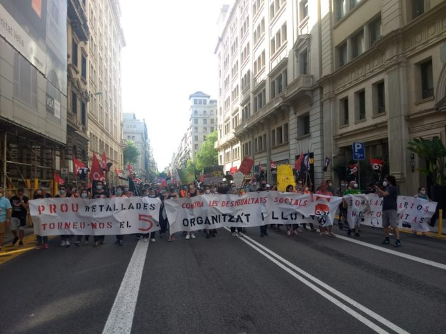 Concentraciones convocadas por la CGT el 30 de junio para exigir que esta nueva crisis no la paguen los colectivos más precarios y desfavorecidos - Imagen-16