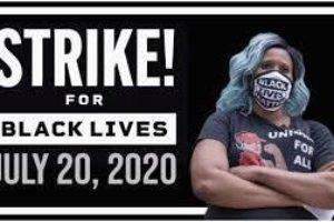 Black Lives Matter: Comunicado de apoyo a la huelga convocada para el 20 de julio de 2020