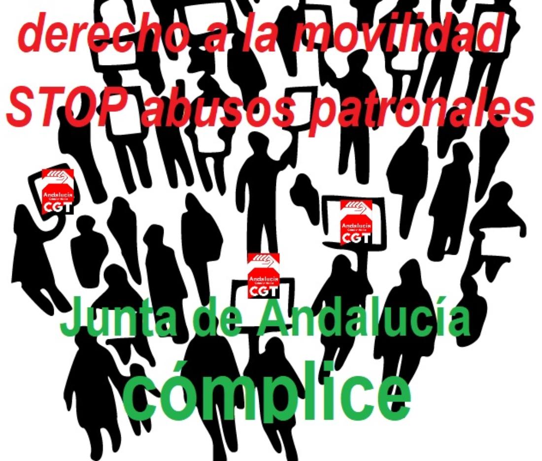 La Junta de Andalucía permite a ALSA y otras empresas de transporte regular que no respeten las concesiones públicas de prestación de servicio por bus a pueblos y ciudades andaluzas