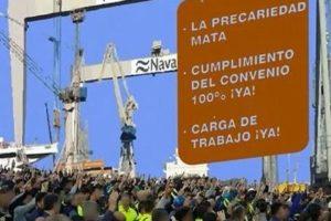 Se retrasa el inicio de la huelga general indefinida en el sector del Metal en Bahía de Cádiz – La Janda hasta las 0h del 4 de septiembre