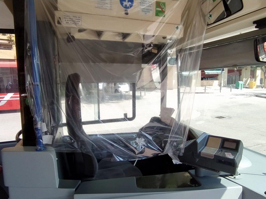 Dos positivos COVID-19 entre los conductores de la UTE de Transportes Murcia