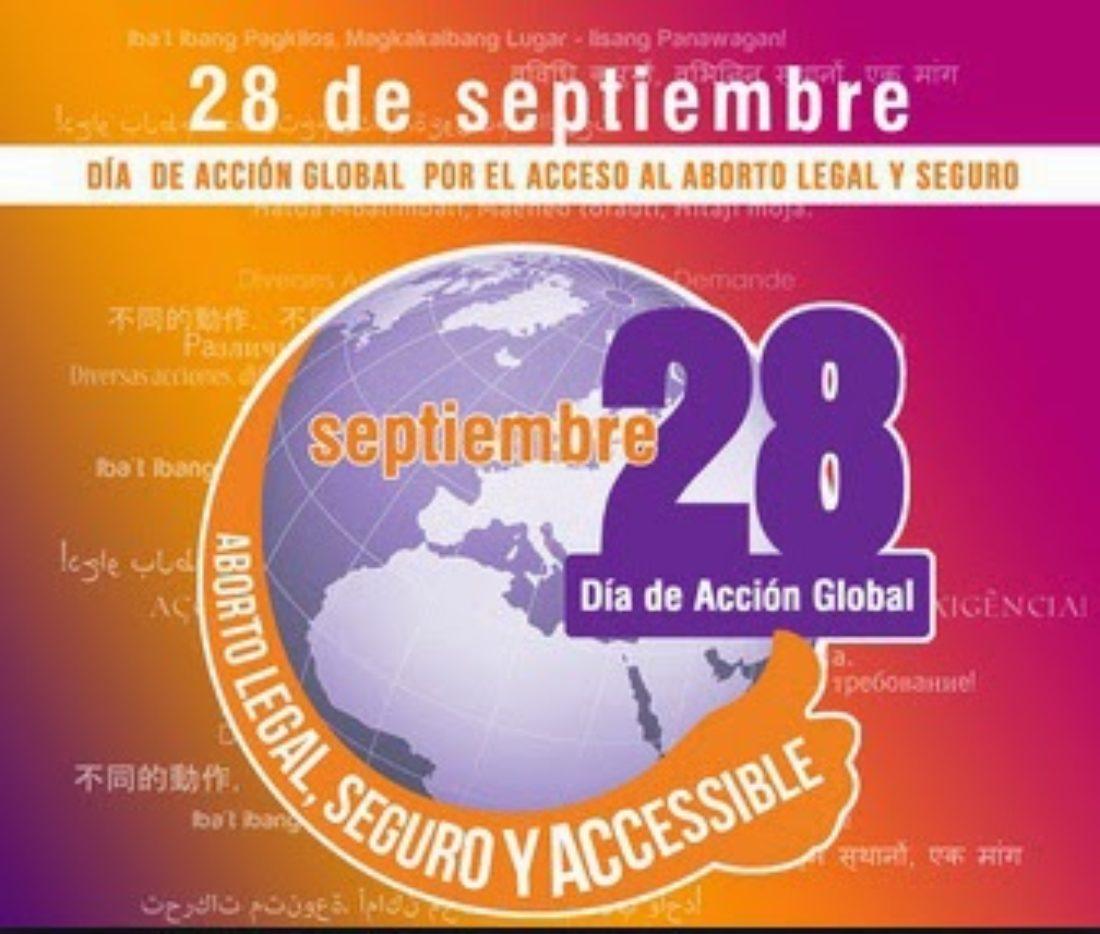 28 de septiembre: Día de acción global por el acceso al aborto legal y seguro