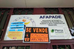 CGT denuncia acoso a los representantes de los trabajadores en AFAPADE durante la huelga indefinida