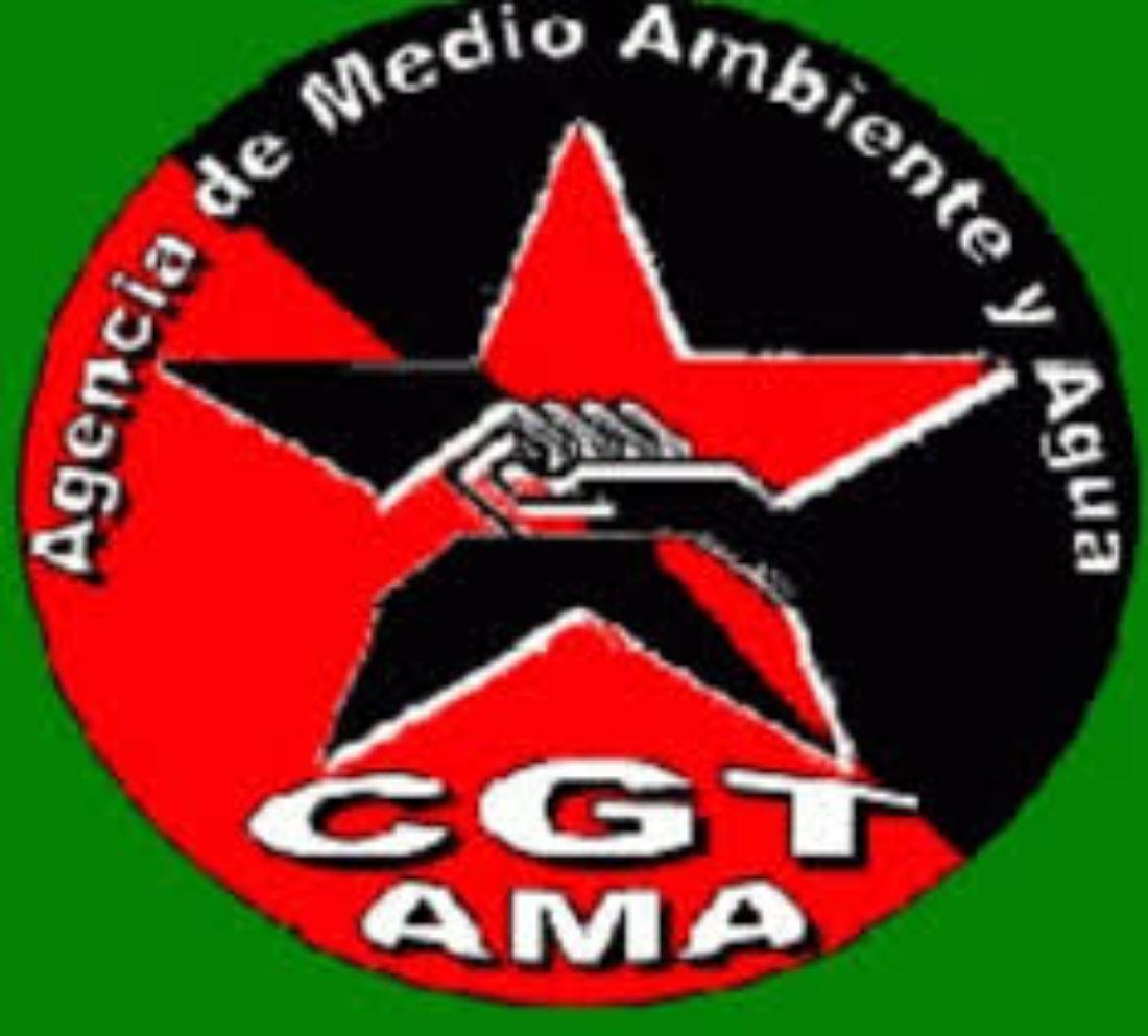 CGT estudia demandar por contratación irregular en la Agencia de Medio Ambiente y Agua