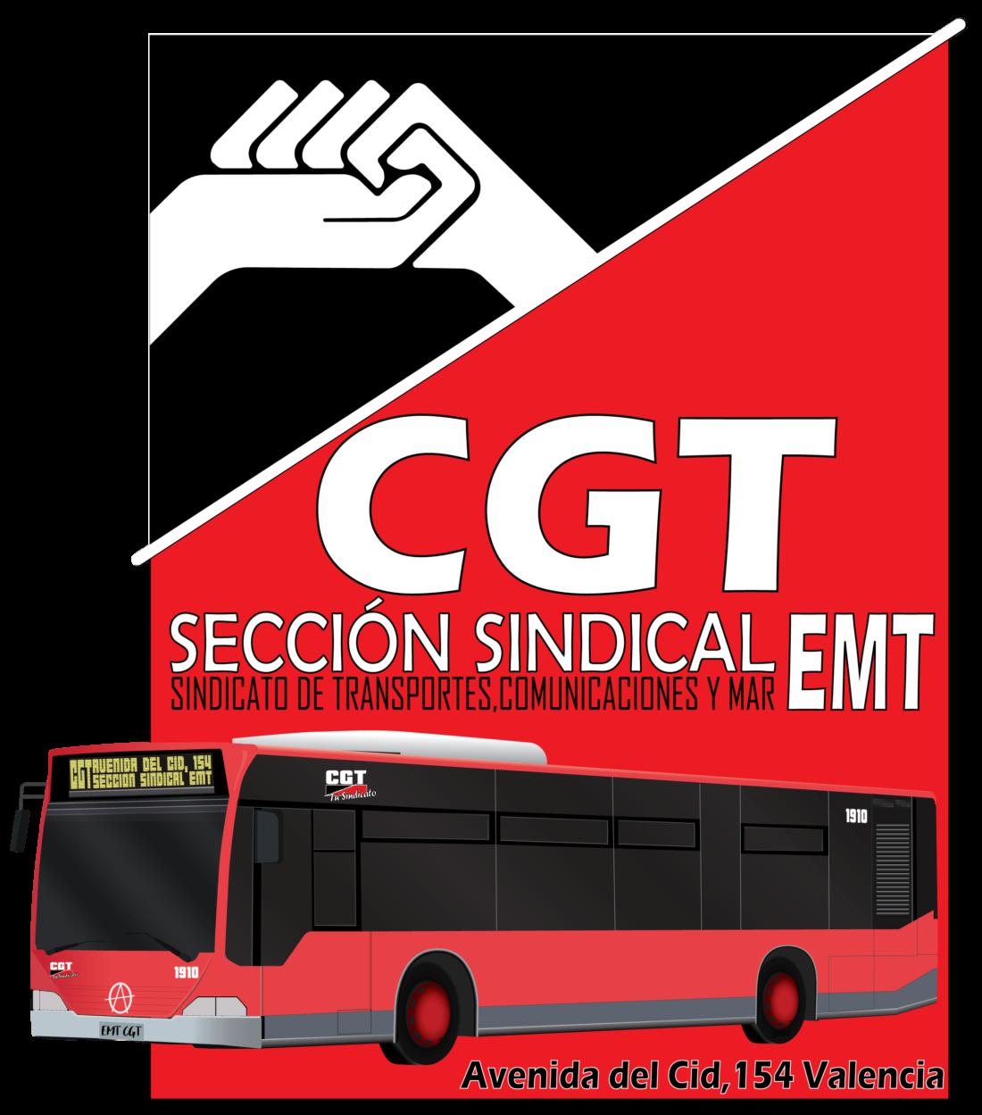 """CGT califica como """"bueno"""" el preacuerdo en EMT València"""