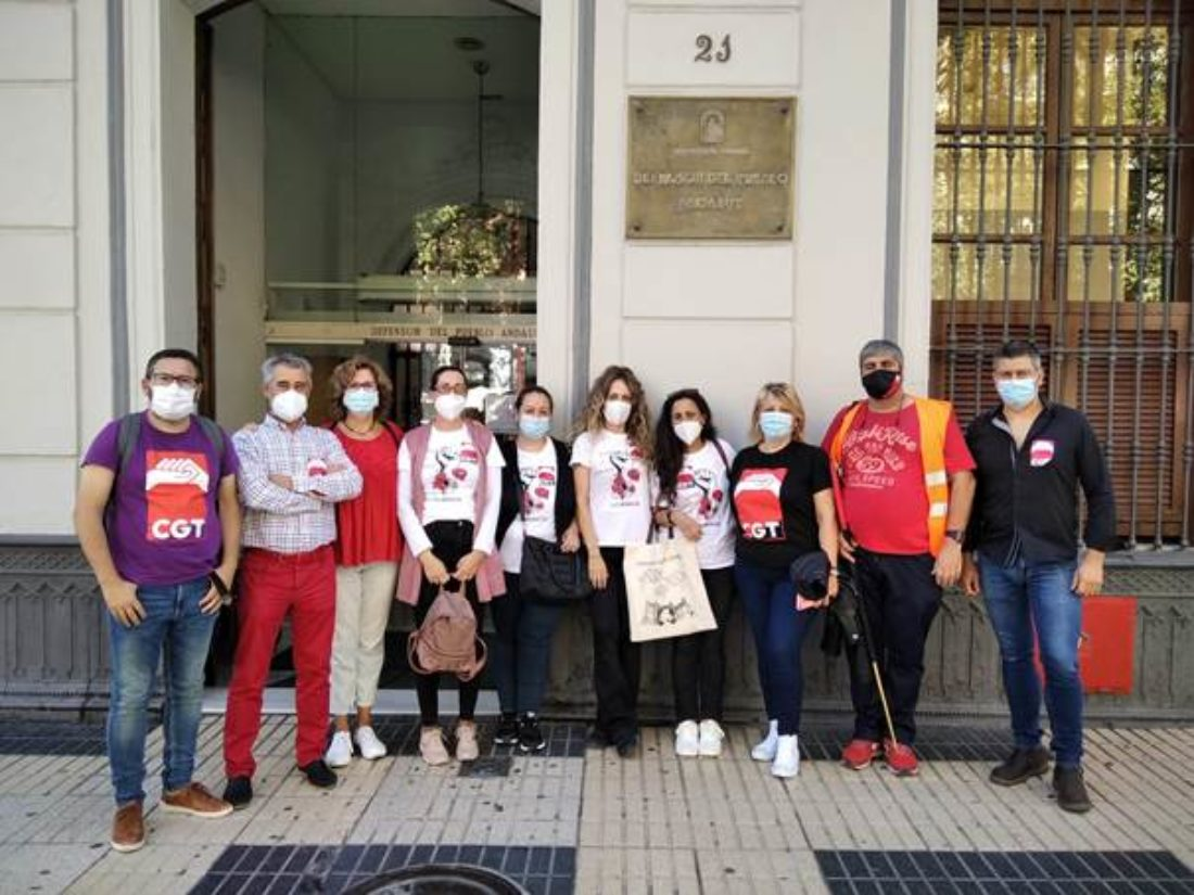 Las trabajadoras de Marinaleda en huelga inician el próximo miércoles visitas a los cargos públicos que se desplazaron a apoyar al Ayuntamiento el pasado 29 de septiembre