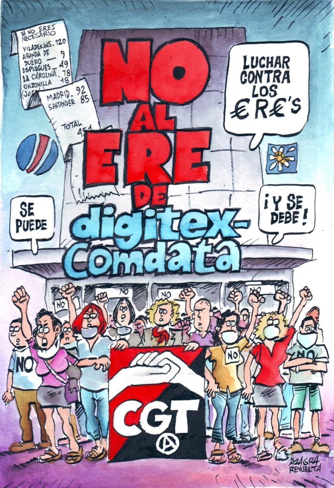 Propuestas de la sección sindical de CGT para la mediación-conciliación en la empresa Digitex