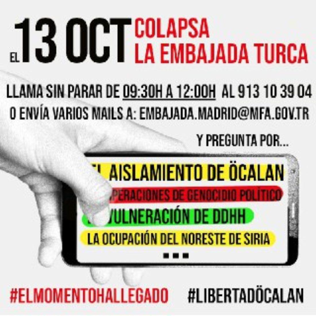 El momento es ahora: Libertad para Öcalan