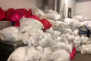El Hospital Clínico de València acumula residuos contaminantes de COVID-19