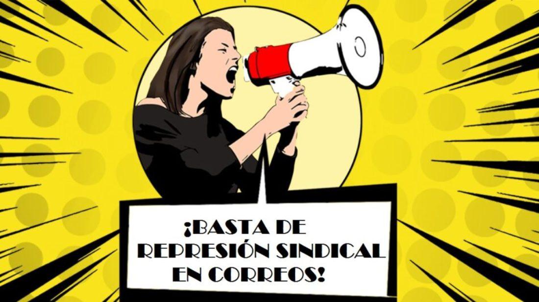 Correos y Telégrafos sanciona a dos delegados de CGT
