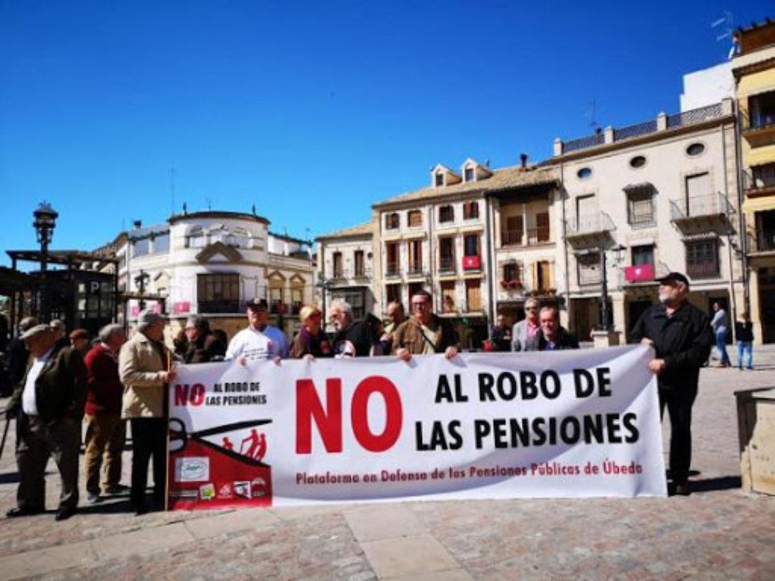 9-N: Concentración en defensa de las Pensiones en Úbeda