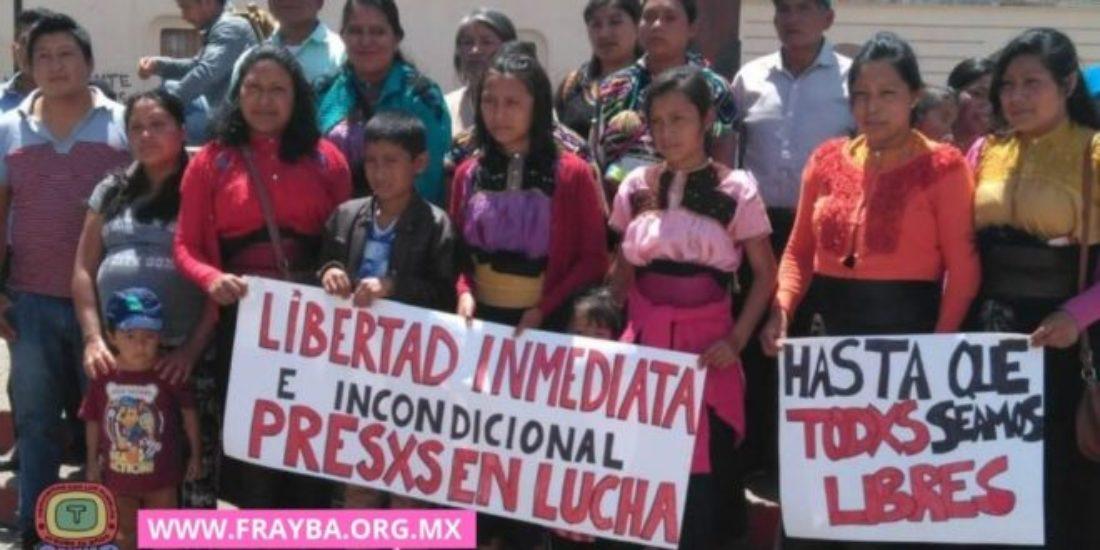 Libertad y respeto a los compañeros presos en lucha en Chiapas, México