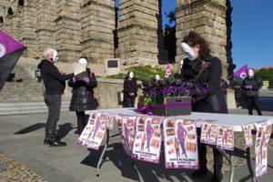 CGT Segovia, Acto conmemorativo 25N