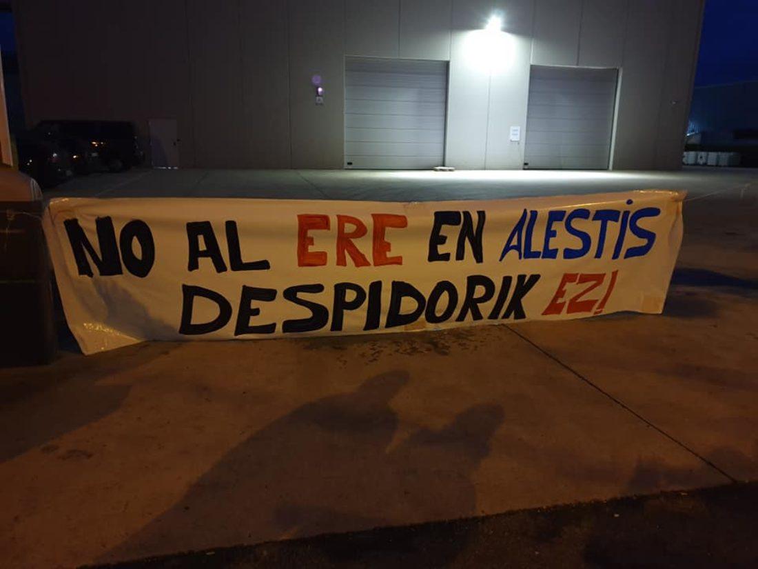 CGT solicita la readmisión de las trabajadoras despedidas de Alestis