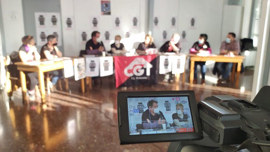 """CGT en Acción """"Hablan los Sindicatos. Análisis del mundo del trabajo, nuestras luchas. El apoyo mutuo nuestra mejor herramienta"""" 23/12/20"""