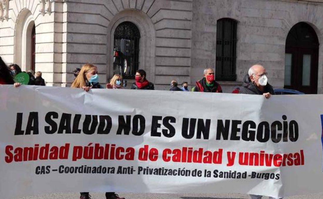 Movilización en defensa de la Sanidad Pública y Universal