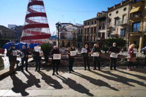 25-N: Concentración en Úbeda contra la privatización del Sistema Público de Pensiones