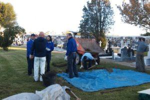 El Ayuntamiento reactiva la exhumación de represaliados por el franquismo en La Soledad