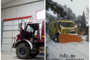 Filomena llega y los bomberos forestales despedidos en sus casas