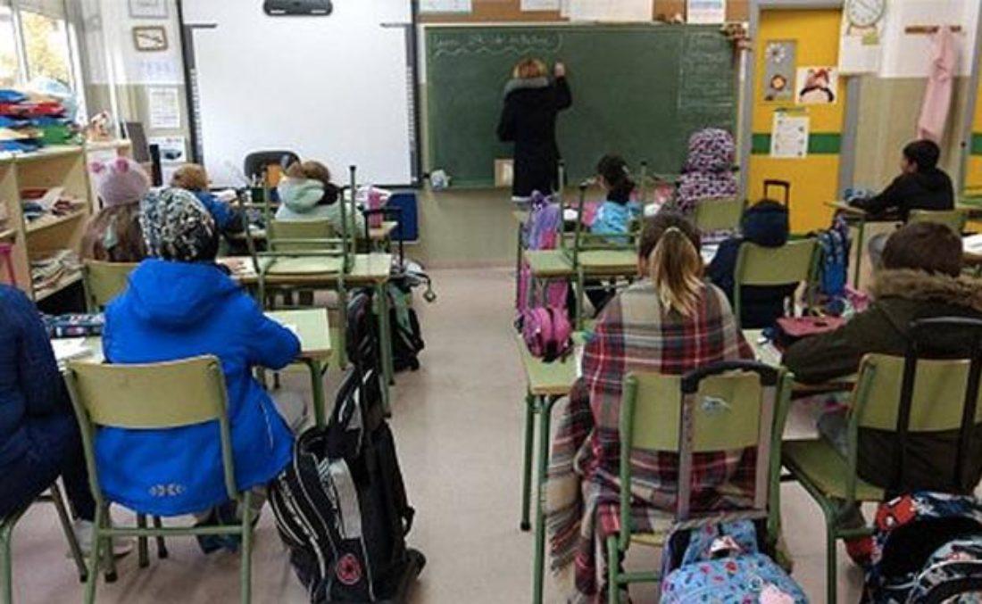 CGT Enseñanza denuncia bajas temperaturas en las aulas