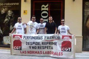 Perfumerías PRIMOR continúa con su particular «holocausto» hacía quienes le exigen el respeto a la legalidad y el cese de los abusos